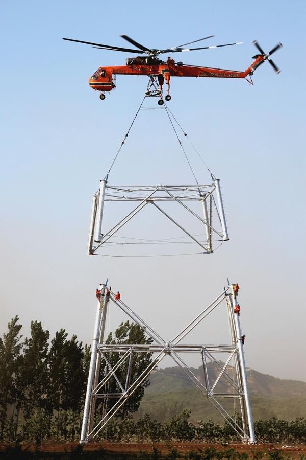 直升机吊装的费用